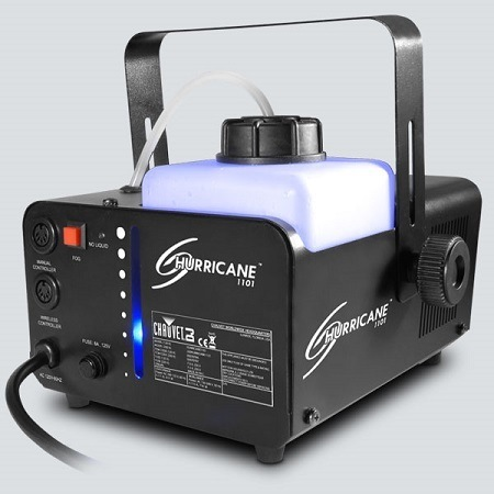 Chauvet DJ Hurricane 1101 Fog Machine Illuminated Tank
