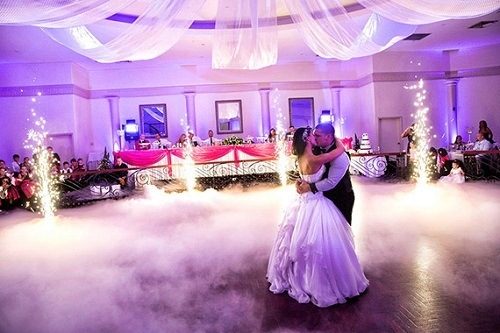 Using Fog Machine On Wedding