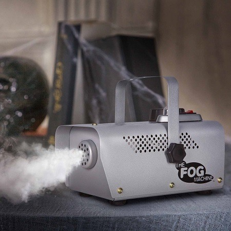 Silver Fog Machine