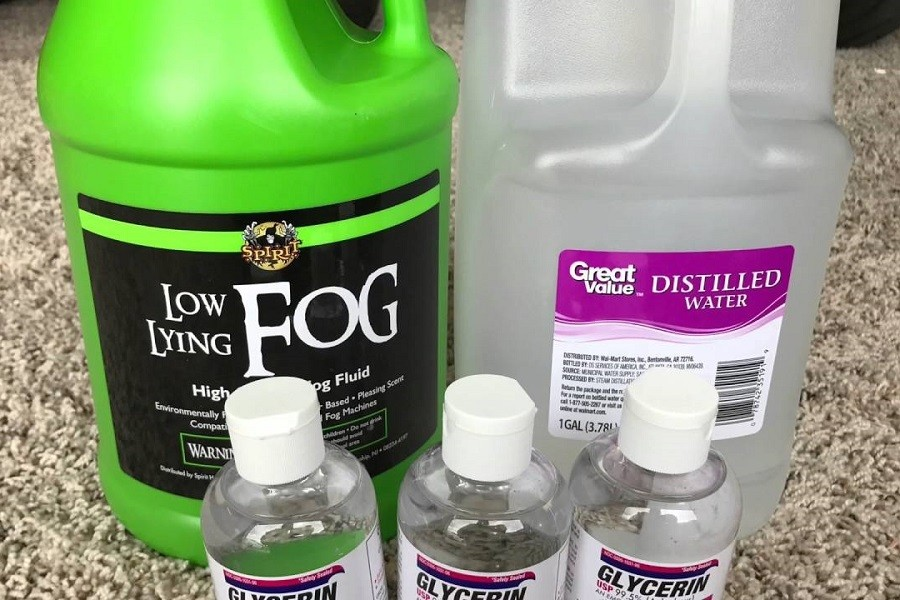 How To Make Your Own Fog Juice