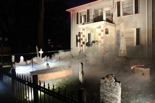 Using Fog Machine On Halloween