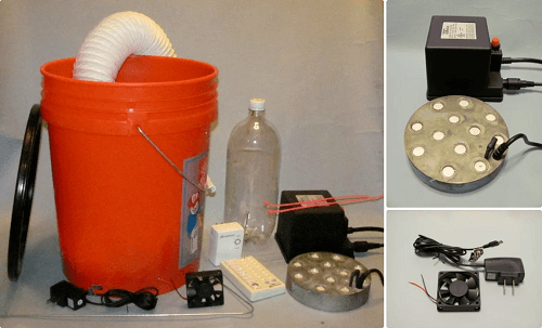 DIY Fog Machine Parts