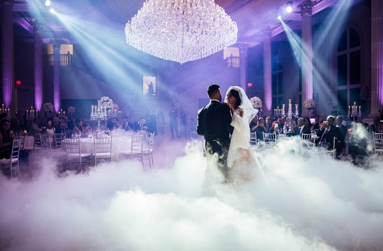 Using Fog Machine In Wedding