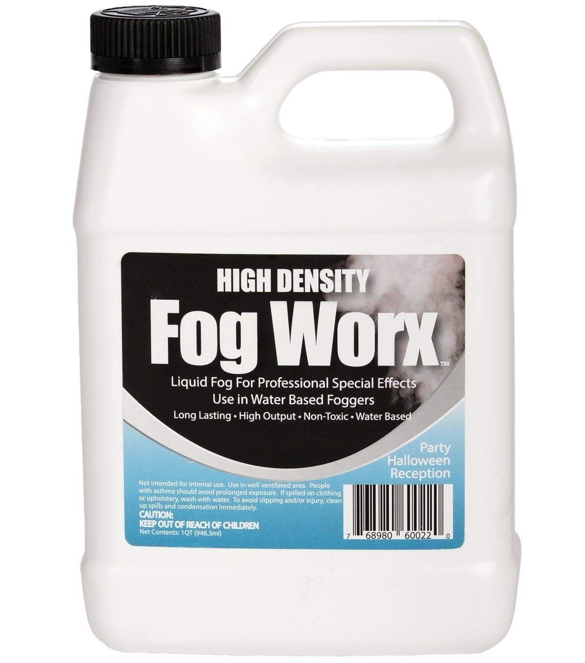 fogworx extreme high density fog juice