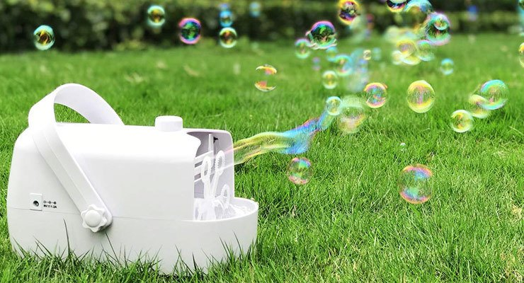 Benefits of a Battery Powered Bubble Machine