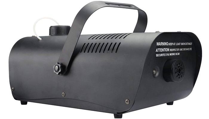 Seasonal Visions 1000W Fog Machine with Alarm and Wired Remote